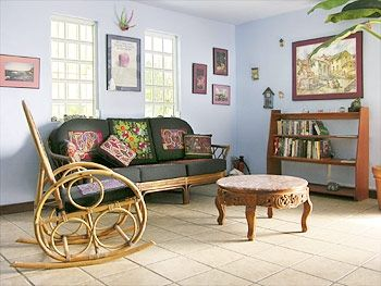 Vieques Island apartment rental - Small part of the living room area