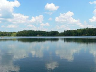 Stamford house photo - The Lake- Titus Lake, a beautiful, heart-shaped, 90 acre glacier formed lake.