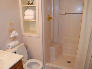 Gatlinburg chalet photo - Main Level Bath with Large Oversize Shower