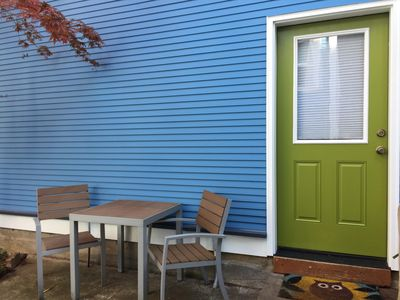 Private entrance. New interior and exterior paint, Spring 2015!