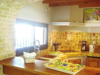 La Gaude apartment photo - Kitchen in the 'Provencal'