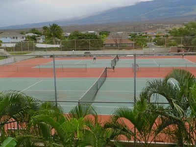 Tennis Courts, (tennis rackets provided)