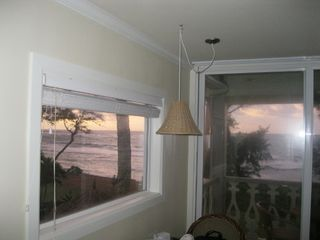 Kapaa condo photo - Sunrise from window and slider.