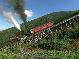 Bartlett condo photo - World famous Cog Railway to the summit of Mt. Washington