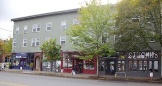 Seattle apartment photo - St. John's today. Three restaurants, a salon; upstairs: 23 apartments.