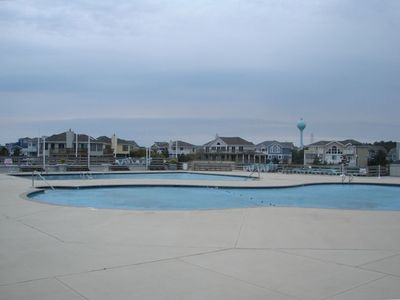 Corolla townhome rental - 4 Outdoor Pools, 1 Indoor Olympic Sized Pool