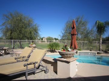Maricopa house rental - What a great view and awesome place to relax!