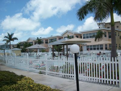 Indian Shores condo rental - Pool area