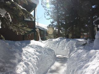Mammoth Lakes condo photo - Pathway from lot to unit