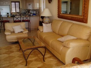 San Jose del Cabo condo photo - Comfortable living room with spectacular ocean vie
