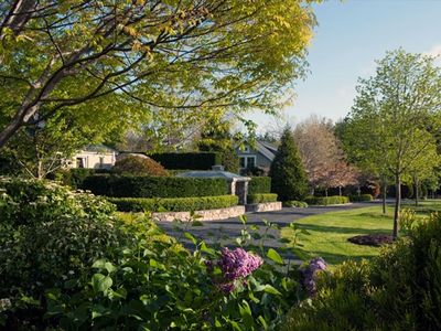 This 15 acre private estate includes botanical gardens and organic farming.