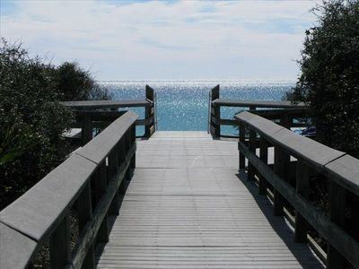 HBV Beach Access II ~ About 50 yards from your patio door!