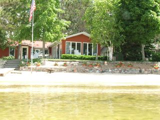 Lake City cottage photo - lake about 3 feet deep