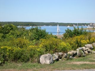 Great Island cottage photo - Sailing on the Pond (1+ mile across, 6 miles wide)