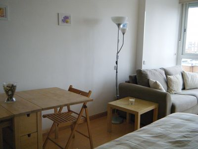 studio with pool near Estacion de Chamartin