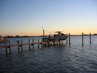 Englewood house photo - Private 'Deep Water' Boat Dock on bay
