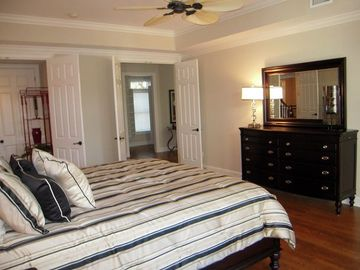 First floor master bedroom and dresser