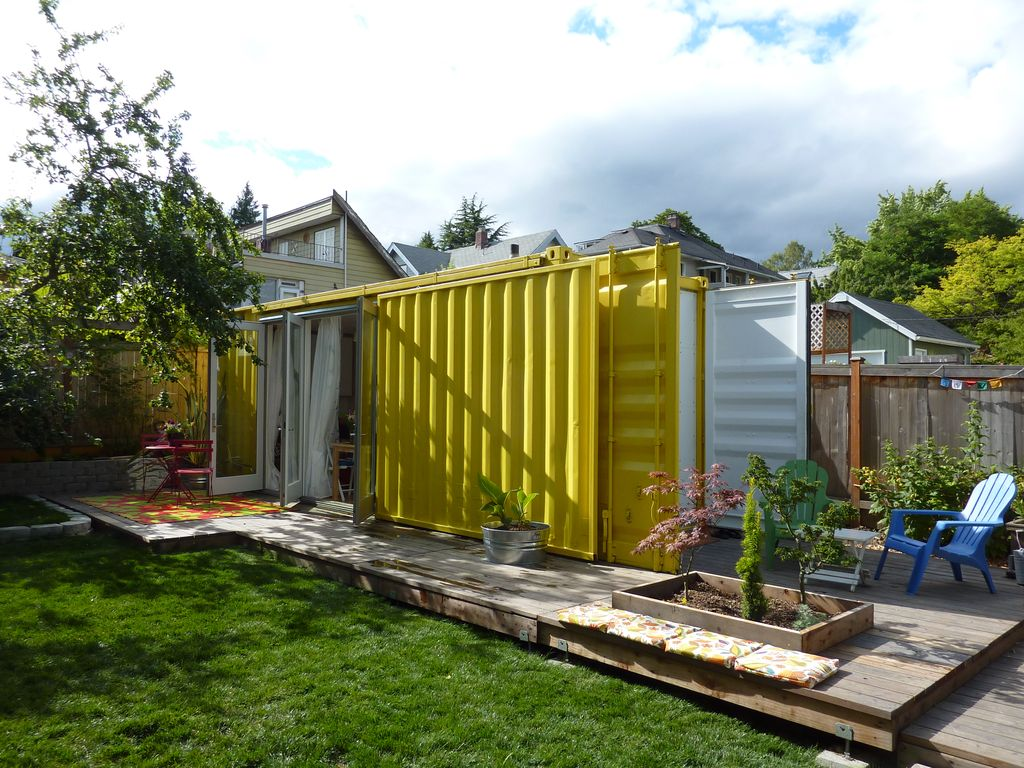 Shipping container guest house vrbo for House with guest house