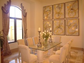 Bonita Springs estate photo - Formal Dining Room seats 8