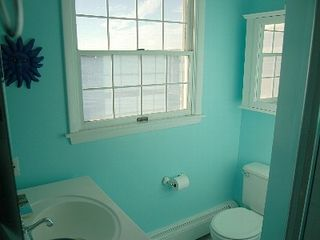 Hampton Bays house photo - Private Master Bathroom (Water View)