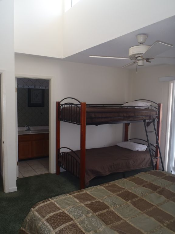 Guest Bedroom with Bunk Beds