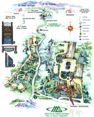 Killington condo photo - Mountain Green Resort map
