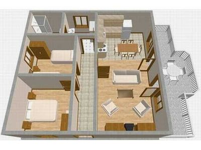 Holiday apartment 176025