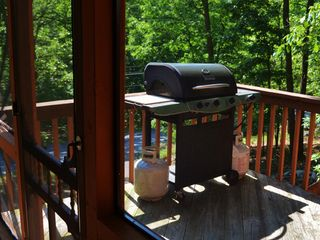 Bushkill house photo - BBQ Area