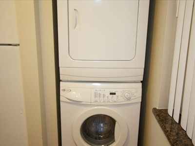 Washer and Dryer in the Condo!