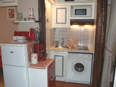 4th Arrondissement Pompidou Le Marais apartment rental - Kitchen corner all equipped!