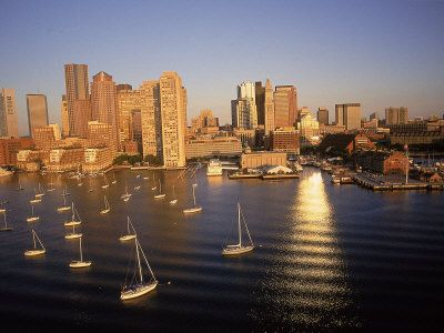 Our beautiful Boston Harbor