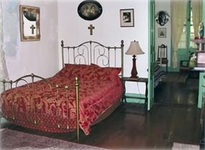 New Orleans house rental - Master Bedroom/ General view.