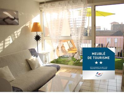 Studio-2-4 Pers Carnon 2 * 150 m from the beach. Linen and towels included