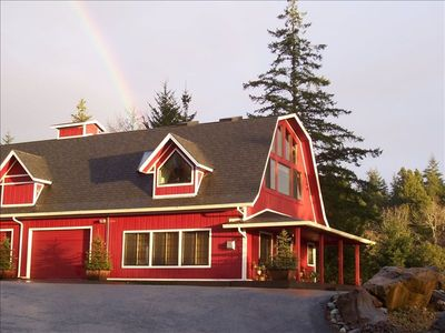 Brookings chateau / country house rental - Rainbow Rock Ranch Guest House