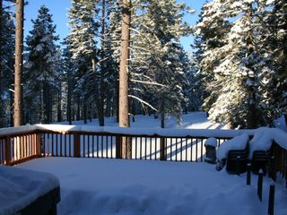Tahoe City house photo - Our Winter BackYard