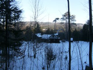 Newfound Lake cabin photo - Rear view of house, PETS are always welcome