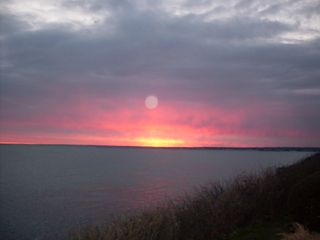 Point Judith house photo - This wonderful sunset picture was taken April 7th, 2012 !!!