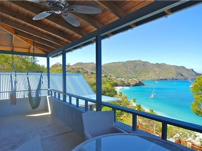 Bequia apartment rental - The View from the balcony