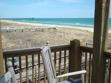 Kure Beach townhome rental - 4 blocks south of the Kure Beach pier