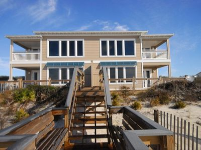 SURF SERENADE RESTS ON TOP DUNES JUST STEPS FROM GULF OF MEXICO