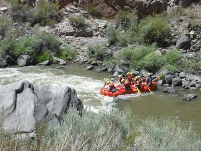 Water rafting - 21 miles from property
