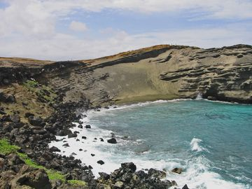 Green Sands Beach near Southpoint