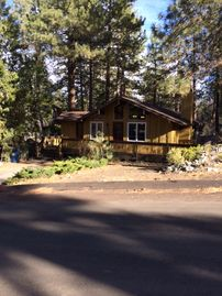 Wrightwood cabin rental - Dual pane windows and new weather sealed doors provide cozy insulation.