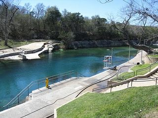 Austin house photo - The famous Barton Springs Pool is a quick bike, car, or bus ride away