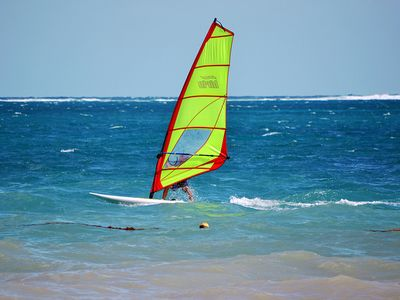 Wind Sailing (or kite sailing or kayaking) is available 10 minutes away.