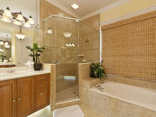 Palm Coast house photo - Slip into our deep soaking tub and indulge in a bubble bath one night!