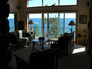 Lutsen house photo - living room view
