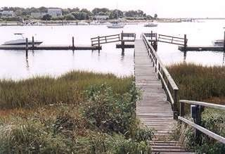 South Yarmouth house rental - Dock your boat up to 24 feet on the private dock just steps away.