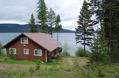 Marion cabin rental - House from drive
