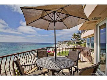 La Jolla house rental - Middle deck - view